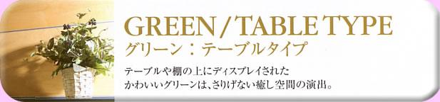 クオリア アーツ アレンジメントフラワー&グリーン(造花観葉植物)ショップ グリーン・テーブルタイプ
